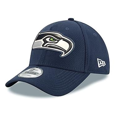 Casquette des Seahawks de Seattle ajustable 9FORTY, logo biseauté