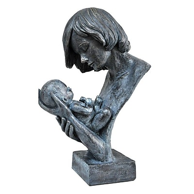The Urban Port Woman Holding Baby in Loving Hands Bust WYF078280029967