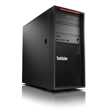 Lenovo - PC de table 30AT000FUS ThinkStation P310 tour, 3,5 GHz Intel E3-1245, DD 1 To, 8 Go DDR4, Win 7 Pro