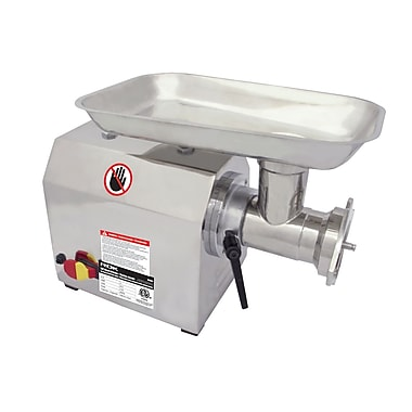 ROK 1 HP Meat Grinder, Stainless Steel (ROK-80030)