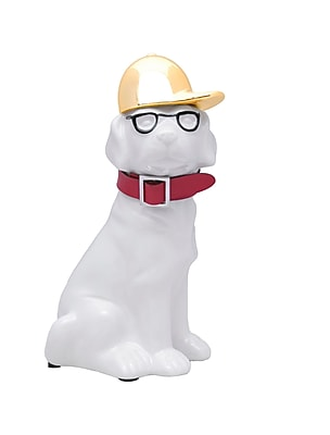Interior Illusions Smart Dog w/ Glass Piggy Bank