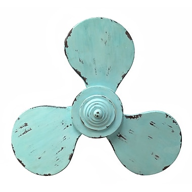 Wilco Home Smokey Cabin Wood Boat Propeller Wall D cor