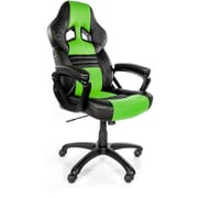 Arozzi Monza Racing Style Gaming Chair, Green