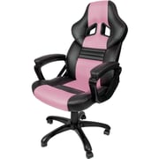 Arozzi Monza Racing Style Gaming Chair, Pink