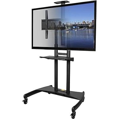 Kanto MTM82PL Mobile TV Mount with Adjustable Shelf for 50