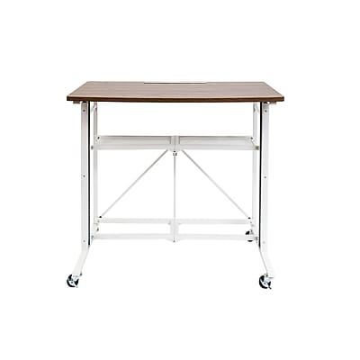 Origami Sit/Stand Desk White, Large