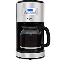 Keyton Automatic Drip 12 Cup Coffee Maker with Adjustable Brewing Modes