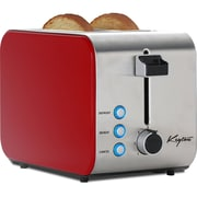 Keyton Stainless Steel 2 Slice Toaster with Crumb Tray, 3 Modes and 7 Darkness Settings, Assorted Colors