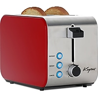 Keyton Stainless Steel 2 Slice Toaster with Crumb Tray