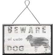 PTM Images Beware of Dog Wall Decor