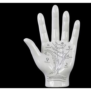 Urban Trends Astro Palmistry Hand Sculpture