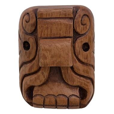 Novica Mystical Jaguar Cedar Wood Mask Wall D cor