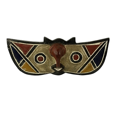 Novica Princess Butterfly Wood Mask Wall D cor