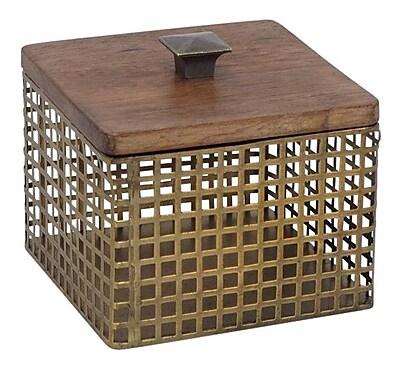 Sagebrook Home Decorative Box