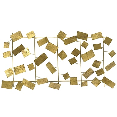 Three Hands Co. Scattered Rectangle Metal Wall D cor