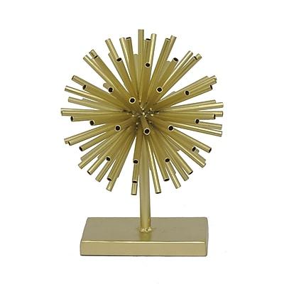 Three Hands Co. Urchin Sculpture; 11.25'' H x 8.25'' W x 8.25'' D