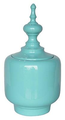 Sagebrook Home Covered Jar; 12.75'' H x 7'' W x 7'' D
