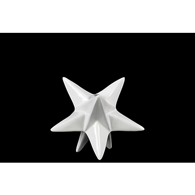 Urban Trends Stellated Dodecahedron Sculpture; 4.25'' H x 5'' W x 5'' D