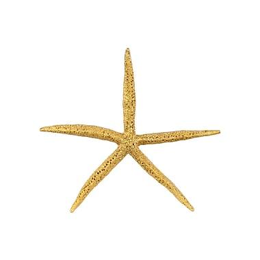 Urban Trends Sea Star Figurine; Gold