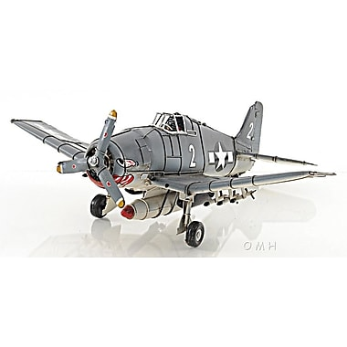 Old Modern Handicrafts Grumman F6F Hellcat Airplane Model