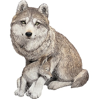 Sandicast Forever Friends Wolf and Pup Figurine