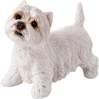 Sandicast Small Size Sculptures West Highland Terrier Figurine