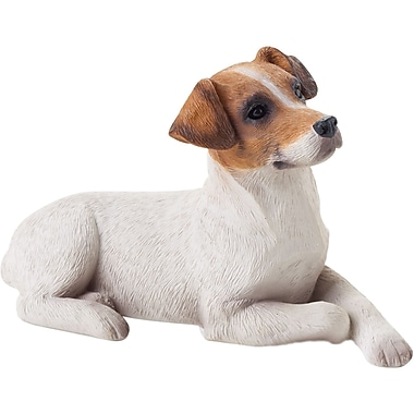 Sandicast Small Size Jack Russell Terrier Sculpture