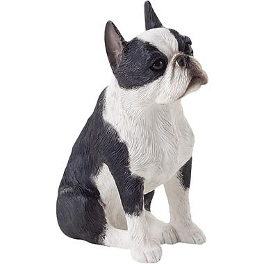 Sandicast Small Size Sculptures Boston Terrier Figurine