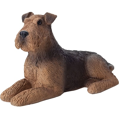 Sandicast Small Size Sculptures Airedale Terrier Figurine