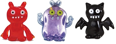Ugly Doll 3 Piece Babo, IceBat and Uglydog Figurine WYF078280030505