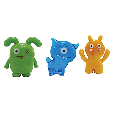 Ugly Doll 3 Piece Abima, Ox and Wage Figurine Set