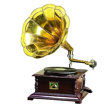 Woodland Imports Decorative Gramophone Sculpture