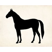 PTM Images Horse Silhouette Tabletop Wall Decor