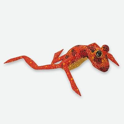 Novica Alebrije Frog Figurine