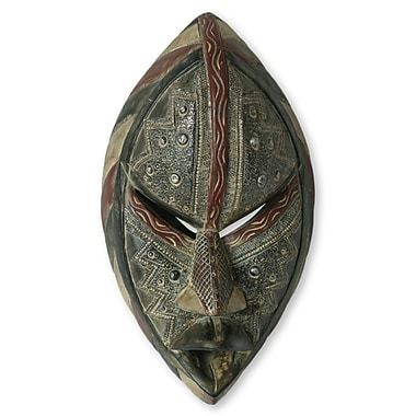 Novica Kind Neighbor Unique Wood Mask Wall D cor