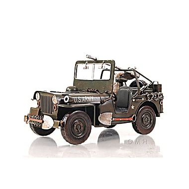 Old Modern Handicrafts 1940 Willys-Overland Jeep 1:12 Car