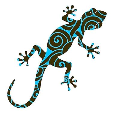 Next Innovations Medium Gecko Wall D cor; Medium Gecko Harajula Blue