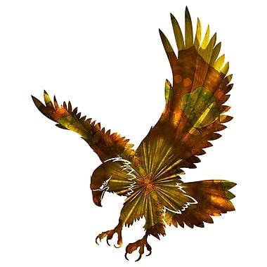 Next Innovations Flying Eagle Wall D cor; Amber Burst Flying Eagle