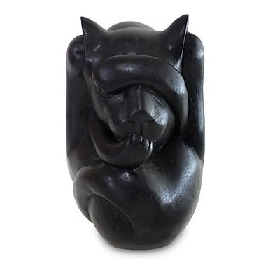 Novica Artisan Crafted Wood Figurine