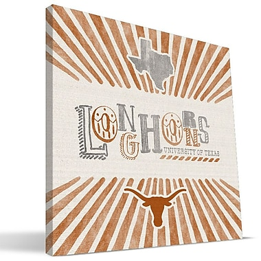 Paulson Designs 'NCAA' Textual Art on Wrapped Canvas