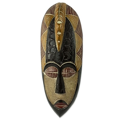 Novica Peace w/ Dove Artisan Made Mask Wall D cor