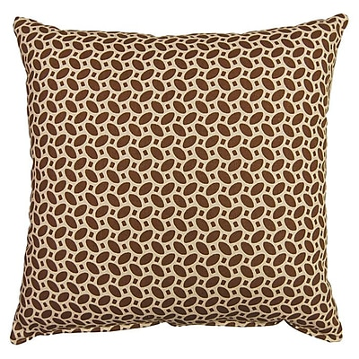 Dakotah Pillow Pirouette 100pct Cotton Reversible Throw Pillow (Set of 2)