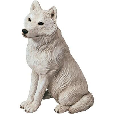 Sandicast Mid Size Sculptures Artic Wolf Figurine WYF078280026976