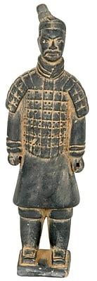 Oriental Furniture Xian Terra Cotta Warrior Figurine