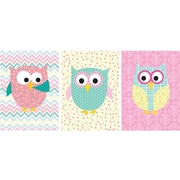 Stupell Industries Whimsical Owl Wall Decor (Set of 3)