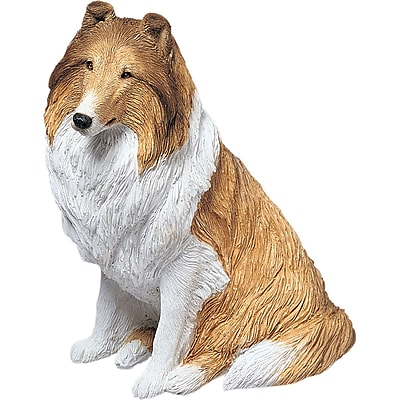 Sandicast Original Size Sable Collie Rough Sculpture
