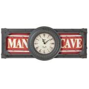 RAM Game Room Man Cave Clock Wall D cor
