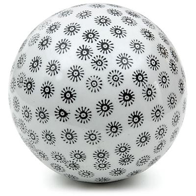 Oriental Furniture Small Stars Decorative Ball Sculpture