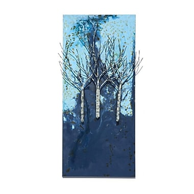 Peterson Housewares Inc. Burning Forest Wall D cor