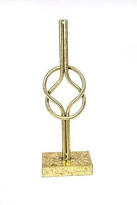 Sagebrook Home Metal Knot Sculpture; 15.75'' H x 3.25'' W x 5.25'' D